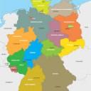 Lerne die deutschen Bundesländer geographisch zu ordnen