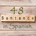 Learn 4500 Spanish sentences used in daily life Part 48 of 50