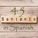 Learn 4500 Spanish sentences used in daily life Part 45 of 50