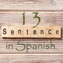 Learn 4500 Spanish sentences used in daily life Part 13 of 50