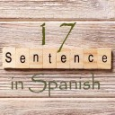 Learn 4500 Spanish sentences used in daily life Part 17 of 50