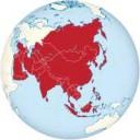 Lerne die geographische Lage der länder Asiens kennen
