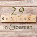 Learn 4500 Spanish sentences used in daily life Part 29 of 50