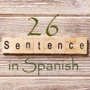 Learn 4500 Spanish sentences used in daily life Part 26 of 50