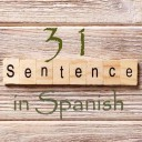 Learn 4500 Spanish sentences used in daily life Part 31 of 50