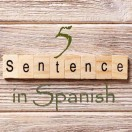 Learn 4500 Spanish sentences used in daily life Part 5 of 50