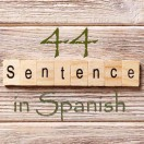 Learn 4500 Spanish sentences used in daily life Part 44 of 50