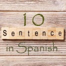 Learn 4500 Spanish sentences used in daily life Part 10 of 50