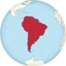 Lerne die Länder von Südamerika geographisch zu ordnen