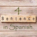 Learn 4500 Spanish sentences used in daily life Part 4 of 50