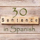 Learn 4500 Spanish sentences used in daily life Part 30 of 50