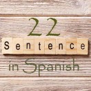 Learn 4500 Spanish sentences used in daily life Part 22 of 50