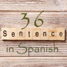 Learn 4500 Spanish sentences used in daily life Part 36 of 50