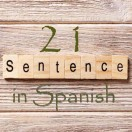 Learn 4500 Spanish sentences used in daily life Part 21 of 50