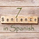 Learn 4500 Spanish sentences used in daily life Part 7 of 50