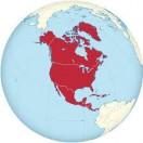Lerne die geographische lager der Länder Nordamerikas kennen