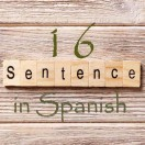 Learn 4500 Spanish sentences used in daily life Part 16 of 50